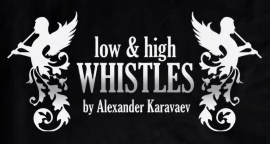 Чехол для Low Whistle Nightingale / A.Karavaev (лоу-вистл) с логотипом -
