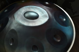 Handpan Chill Radar Spb / Hang Drum F Pygmy scale в чехле -